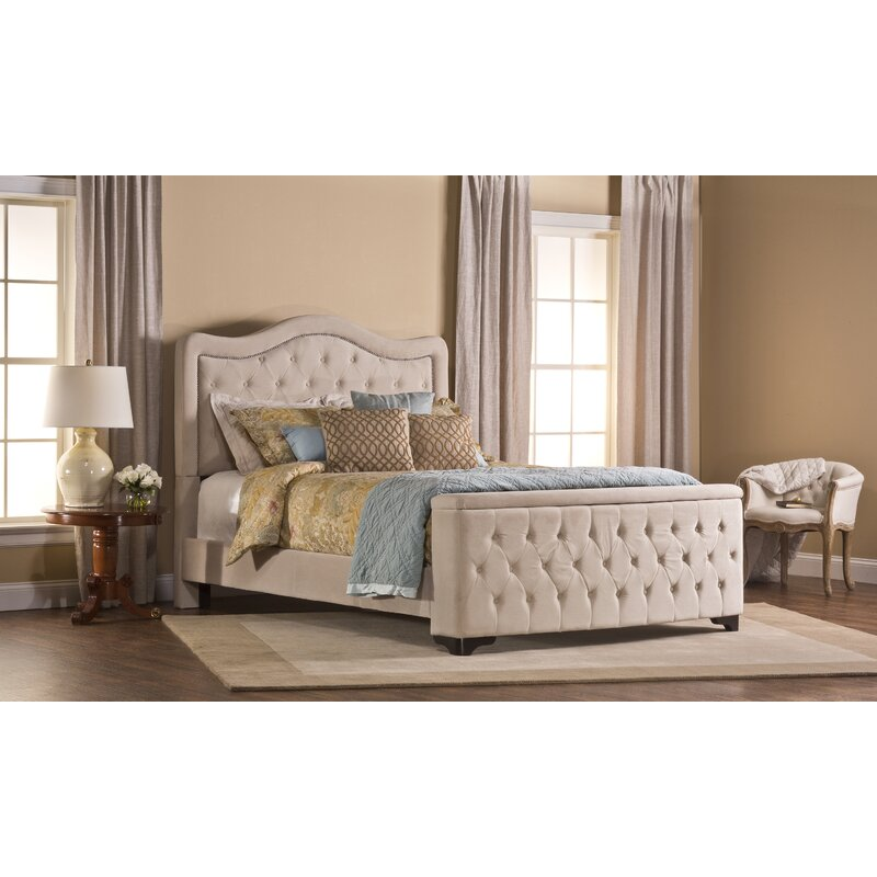 Alcott Hill Amoll Upholstered Standard Bed Reviews Wayfair Ca