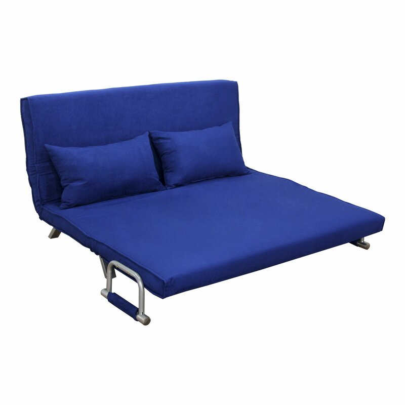 Edmund Folding Futon Sleeper Sofa