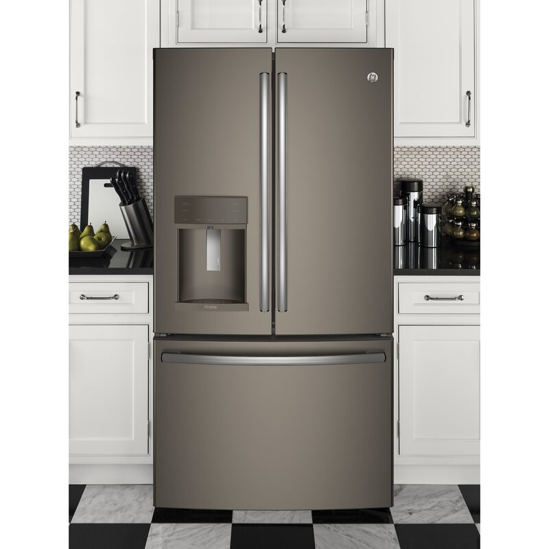 27 8 cu  ft  Energy Star® French Door Refrigerator With Hands-free Autofill