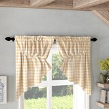Coffee Themed Kitchen Curtains | Wayfair