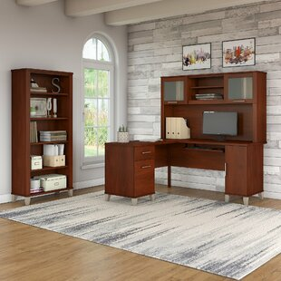 Inexpensive Lumley 3 Piece L-shaped Desk Office Suite By Red Barrel Studio
