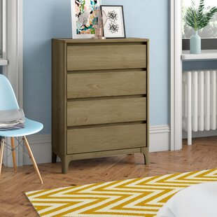 Cleaver 4 Drawer Chest By Mercury Row