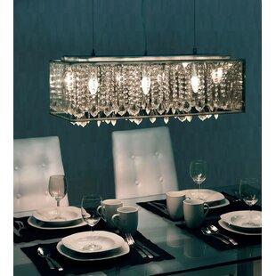 House of Hampton Klar 6-Light Kitchen Isl..