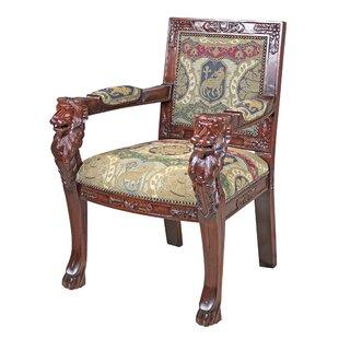 Beardsley Heraldic Lion Chair Armchair