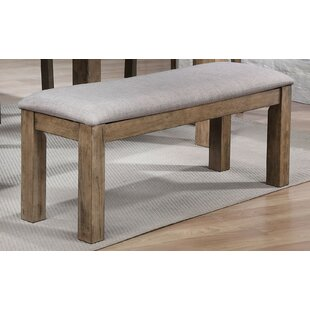 Scruggs Upholstered Bench by Gracie Oaks