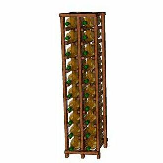 Rebrilliant Lurmont Series 20 Bottle Floor Wine Bottle Rack Wayfair