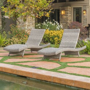 Fawnia Chaise Lounge (Set of 2) by World Menagerie
