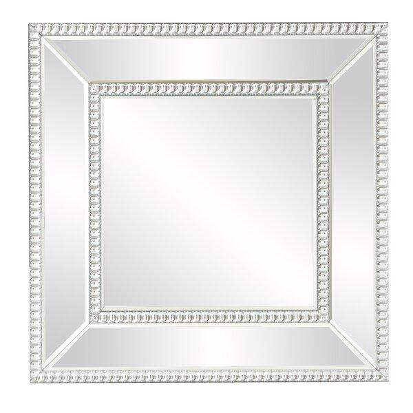Mirrored Frame Mirror | Wayfair
