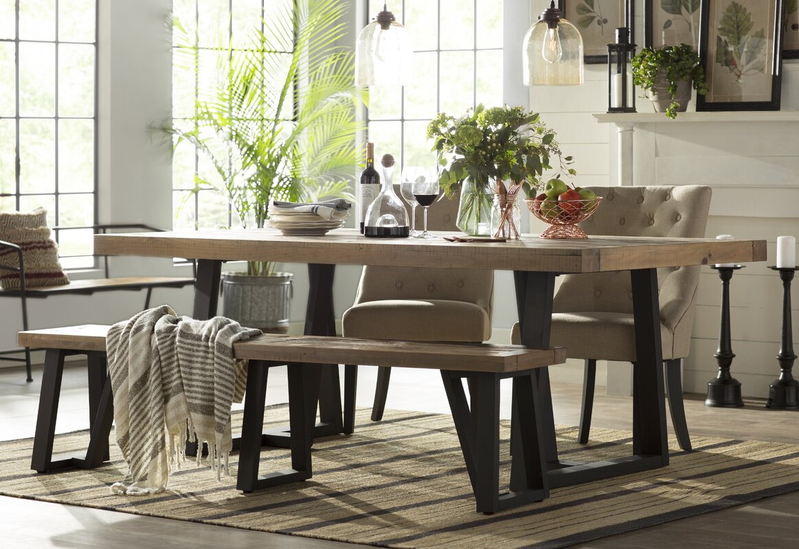 Gracie oaks tj dining table reviews wayfair tj dining table workwithnaturefo