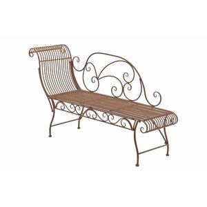 Gartenbank Parbat aus Metall von Home & Haus