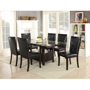 Harnden 7 Piece Dining Set by Alcott Hill