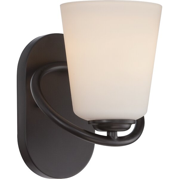 Latitude Run Burhill 1 Light Bath Sconce Wayfair