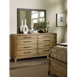 Annabella 8 Drawer Double Dresser with Mirror