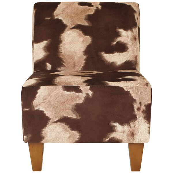 Bloomsbury Market Ronda Animal Print Armless Slipper Chair U0026 Reviews |  Wayfair