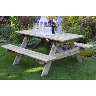 Rectangular Picnic Table By Bel Étage