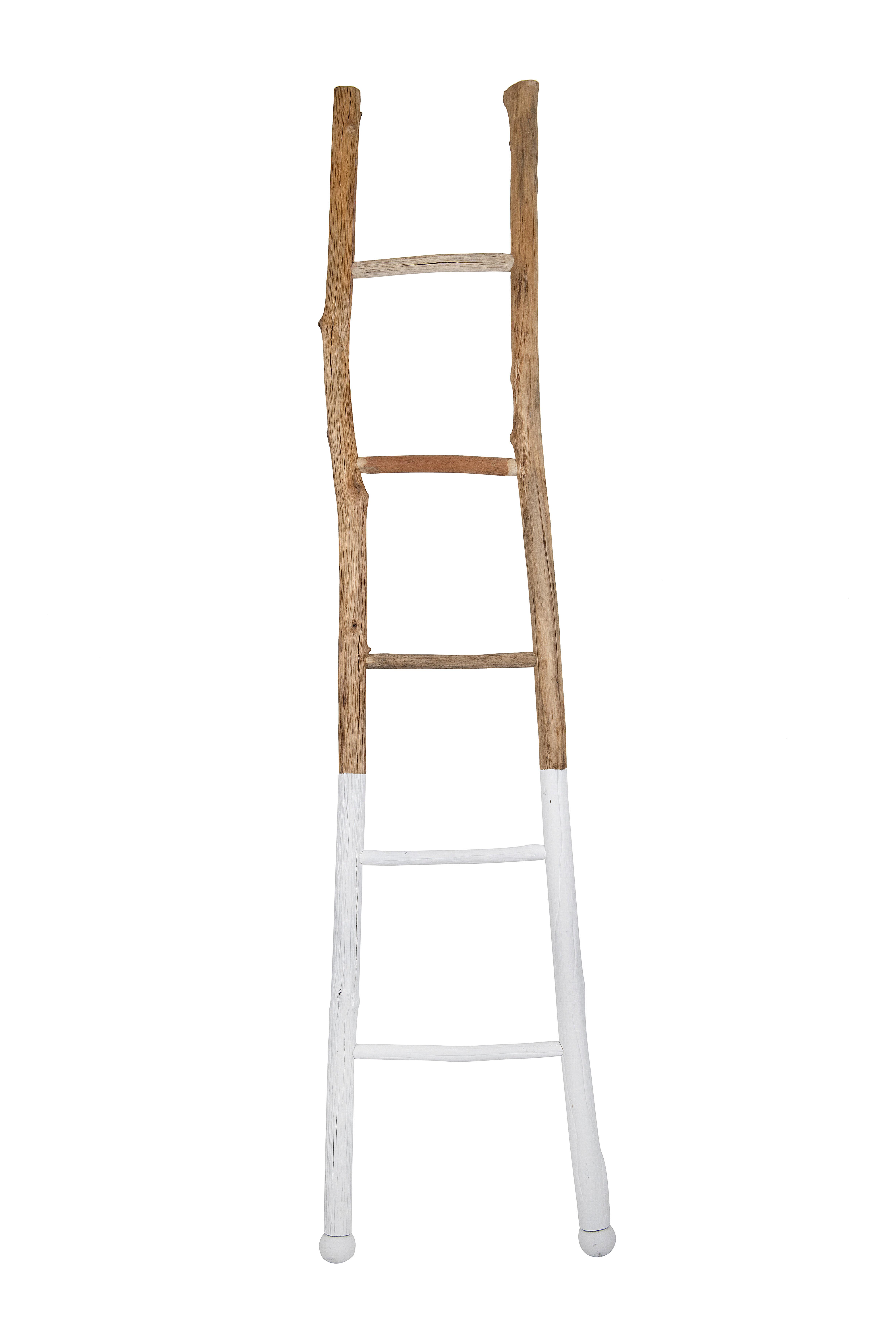 Wood 6 Ft Blanket Ladder Reviews Joss Main