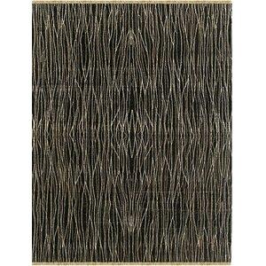 Kinara Hand-Knotted Ebony Area Rug