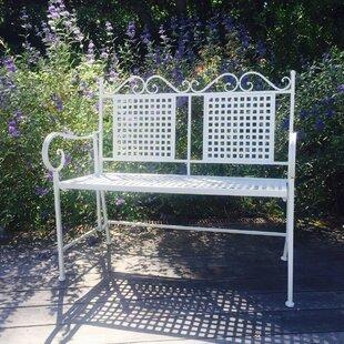 August Grove Isaacs Metal Garden Bench