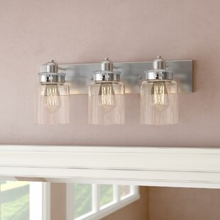 Laurel Foundry Modern Farmhouse Vasilia 3-Light Vanity Light