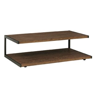 Audio Rectangular Coffee Table with Casters