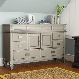 Vasilikos Antique 8 Drawer Combo Dresser