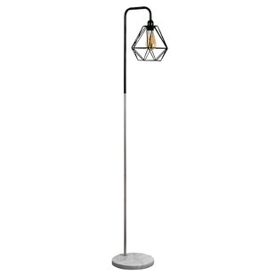 Brushed chrome floor lamp wayfair talisman 153cm floor lamp aloadofball Gallery