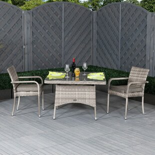 Estes 2 Seater Bistro Set With Cushions By Sol 72 Outdoor
