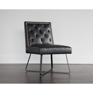 5West Upholstered Dining Chair Sunpan Modern