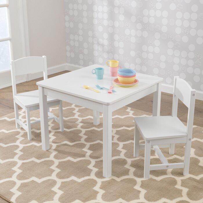 Astounding Aspen Kids 3 Piece Writing Table And Chair Set Machost Co Dining Chair Design Ideas Machostcouk