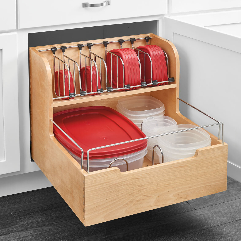 Rev A Shelf Food Storage Pull Out Pantry Reviews Wayfair