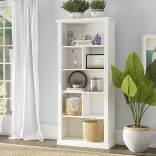Glocester Geometric Bookcase by Beachcrest Home