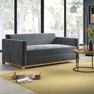 Shop Lore Plush Deep Sofa by Mercury Row