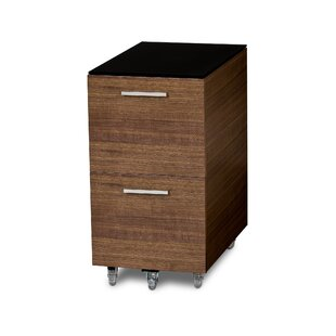 BDI Sequel 2-Drawer Mobile Filing Cabinet