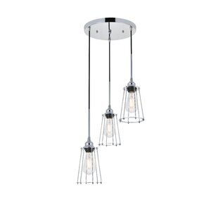 Sessions 3-Light Cluster Pendant by Williston Forge