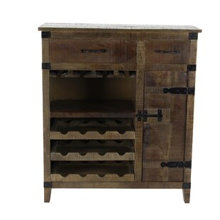 Almanzar Rustic Wood Accent Cabinet by Millwood Pines