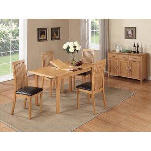 Alcantar Solid Oak Upholstered Dining Chair Set Of 2