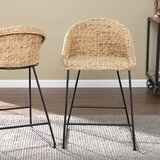 Landrine 24.75 Counter Stool (Set of 2) by Bayou Breeze