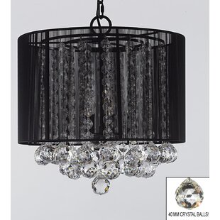 Orren Ellis Howton 3-Light Chandelier