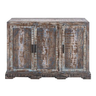 Cole & Grey 3 Door Wood Accent Cabinet