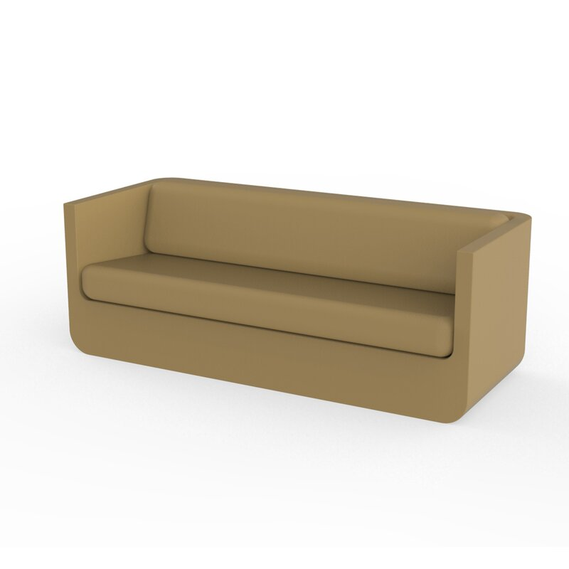 Vondom Ulm Patio Sofa With Cushions Wayfair