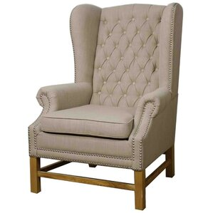 Graham Fabric Wing back chair by New Pacific..
