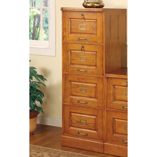 Darby Home Co Fannie 4-Drawer File Cabinet