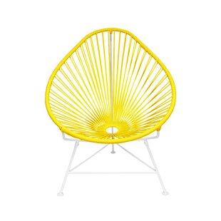 Canela Papasan Chair by Mercury Row