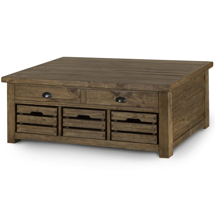 Senoia Lift Top Tail Table With Storage