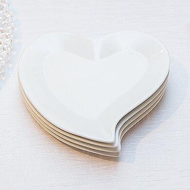 Heart Shaped Plate  sc 1 st  Wayfair & Weddingstar Heart Shaped Plate u0026 Reviews | Wayfair