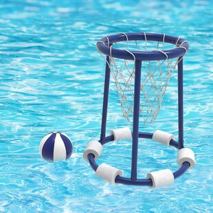 Pool Basketball Hoop Set by Hey! Play!