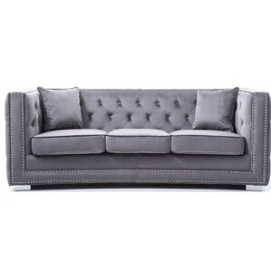 Smollin Chesterfield Sofa by Everly Quinn