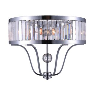Belvoir 2-Light Flush Mount by CWI Lighting