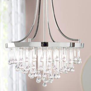 Willa Arlo Interiors Aidan 5-Light LED Chandelier