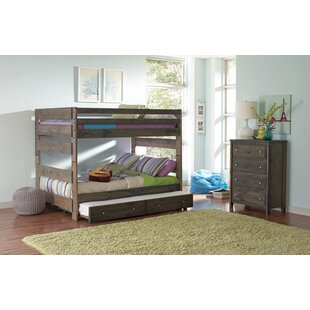Malina Youth Full Bunk Bed With Trundle by Viv + Rae 2019 Sale